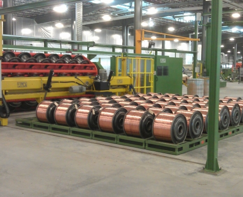 Armoring and screening lines manufacturers
