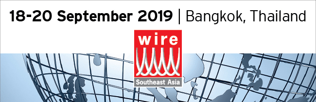 WIRE SOUTHEAST ASIA 2019. 18th to 20th Sept